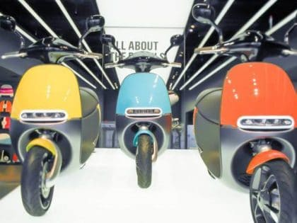 The Deceiving Gogoro Electric Moped