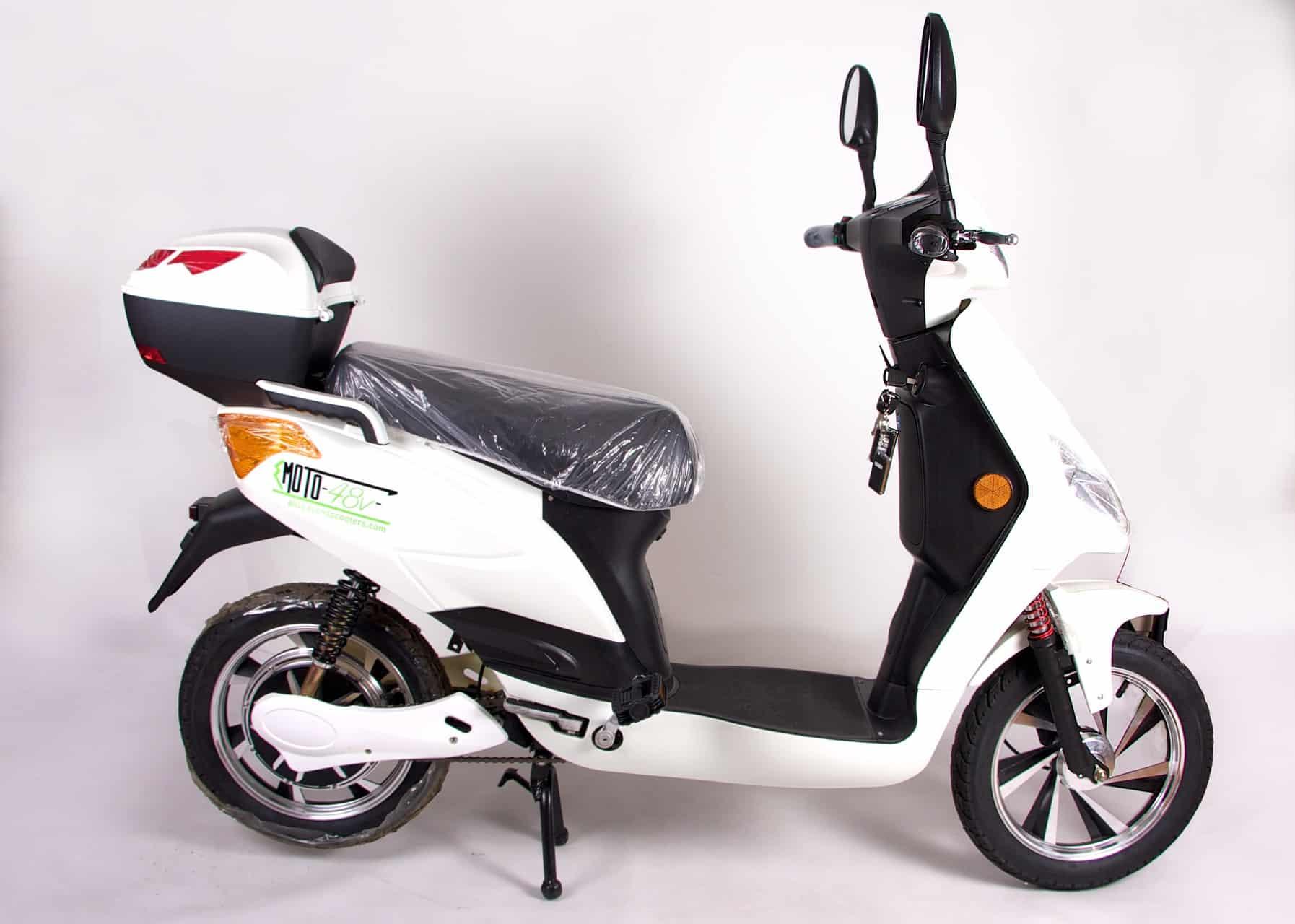 White E Moto 48v Eko Bikes